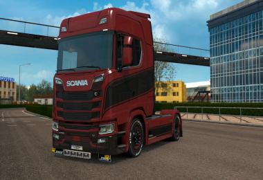 Scania S - Grace Paintjob v1.0.2 by l1zzy