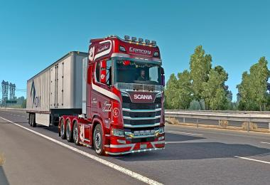 Scania trucks for ATS 18.III.14 v1.0