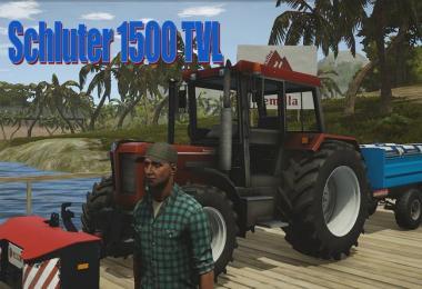 Schluter 1500 TVL Tractor V1.0