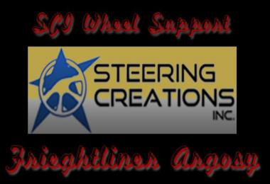 SCI Steering Wheel Support Freightliner Argosy v2.3 1.30.x