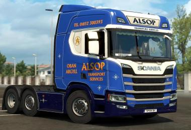 Skin ALSOP Transport for Scania R 2016 NG 1.30.x