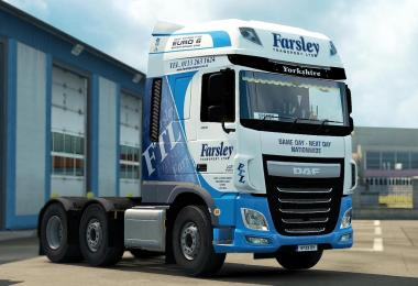 Skin Farsley Transport for DAF Euro6 1.30.x