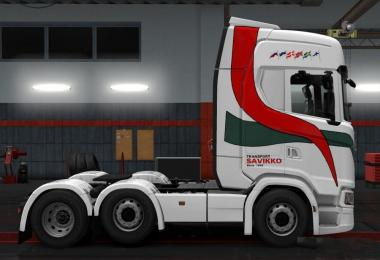 Skin Savikko for Scania S 2016 NG SCS 1.30.x