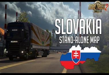 Slovakia Map (upd. 16.03.18) by kapo944 1.30.x
