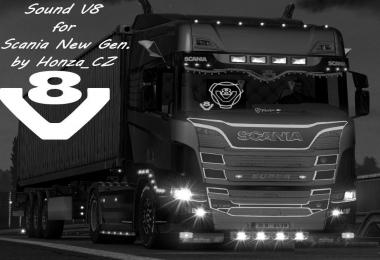 Sound V8 for Scania New Gen v1.0