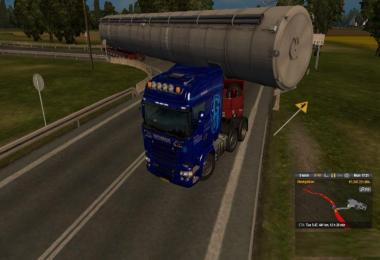 Special transport with extra long cargo v1.0