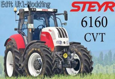 STEYR 6160 CVT  EDIT UKL-MODDING v2.0