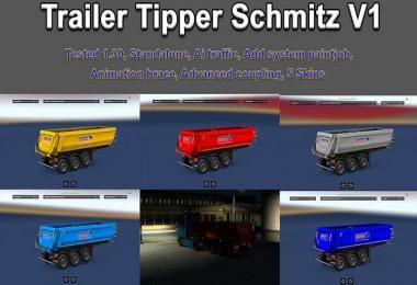 Trailer Tipper Schmitz v1.0