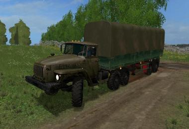 Ural Truck and semitrailers v1.0