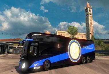 Volvo 9800 Bus Inter Skin (FC Internazionale Milano) 1.30.x