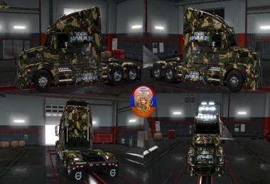 Volvo VNL670 Lara Croft Tomb Raider Combo Skin Packs 1.30.2.6s