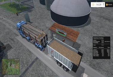 WeightStation For Wood Logs Placable v1.0