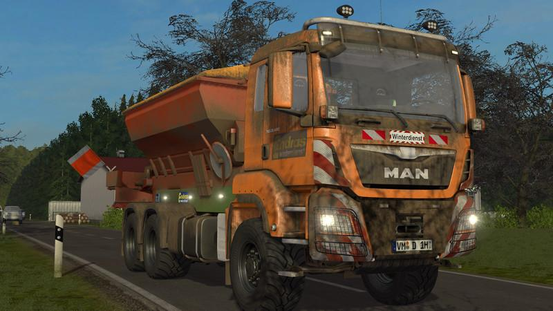 Winter service truck MAN (deco) v1.0