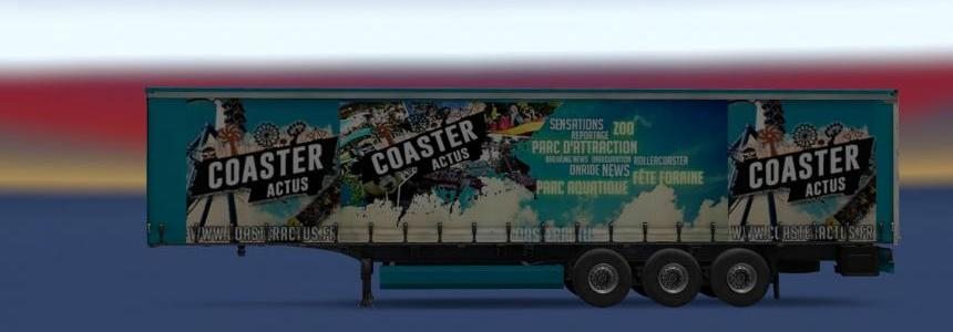 Pack Trailers Coaster - Actus v1.0 1.30/1.31