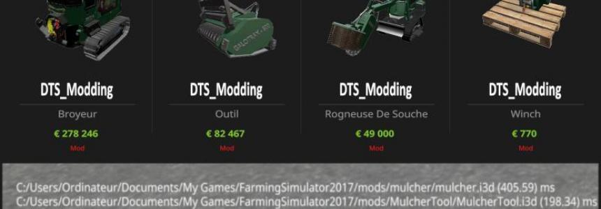 Packs Forestier v3.0 Officiel DTS_Modding