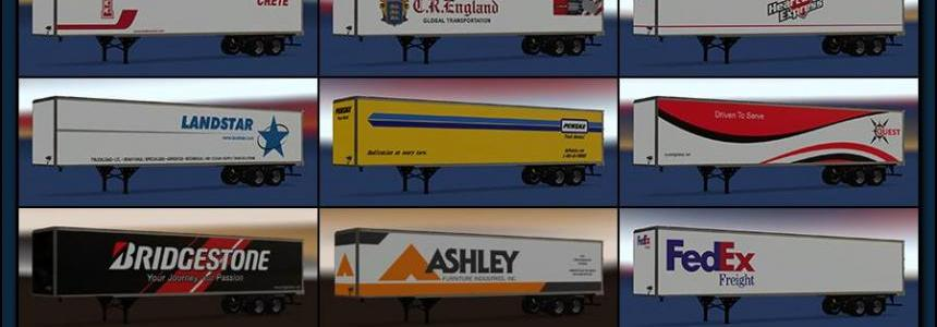 New USA Trailers Pack v1.0