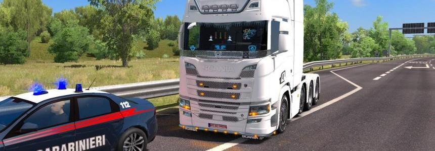 Hilalimsin Save V3 Ice Trucks Ets2 mp 1.31