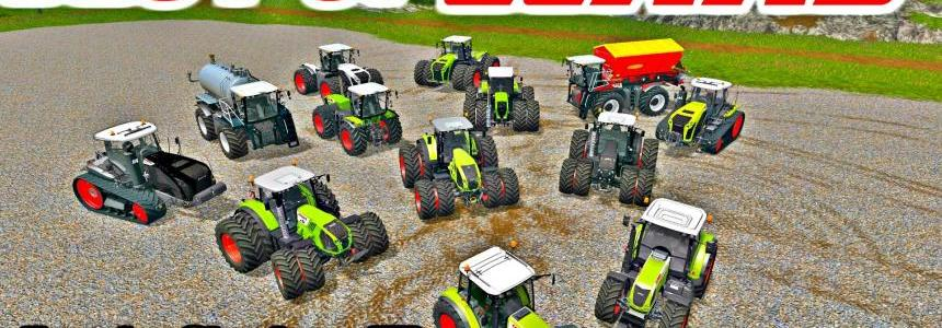 All Claas Tractor Pack v1.0