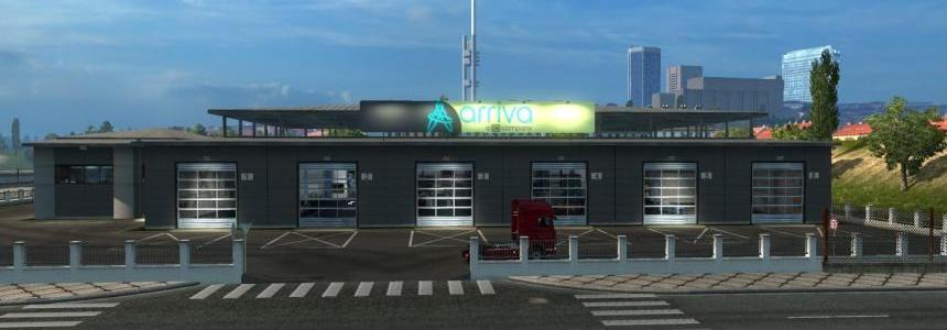 Arriva NEW LOGO Garage Board v1.0