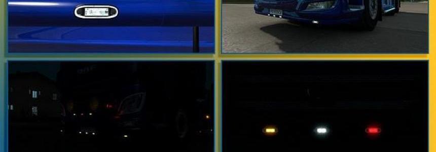 [ATS/ETS] Boreman LED Marker Lights v1.2