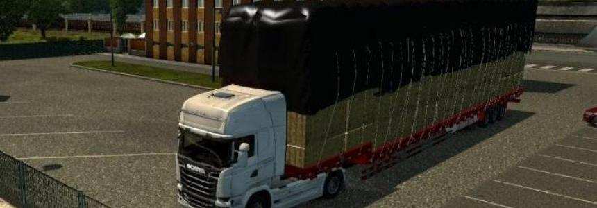 Big Heavy Hay Trailer 1.30.x