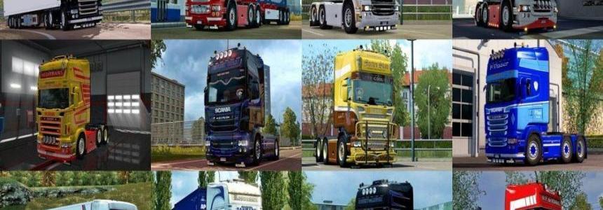 BZR Skin Pack for Scania RJL v1.0