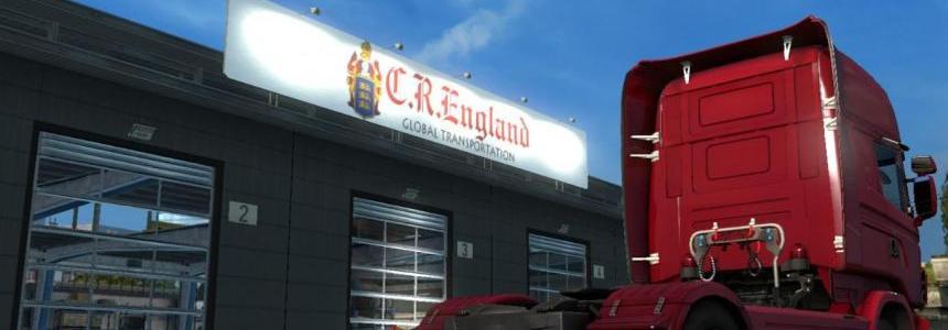 C.R. England Global Transportation Garage v1.0
