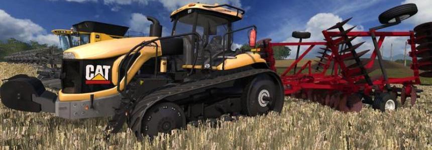 CAT MT865B Tractor v1.0