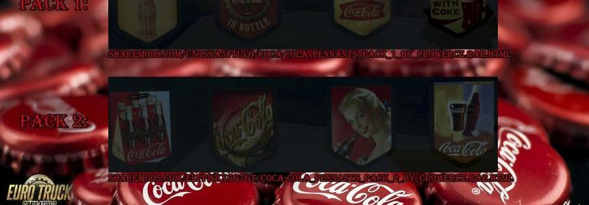 Coca-Cola Retro Edition Pennants Pack v1.0
