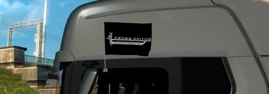 Crown Edition Scania Streamline Flags