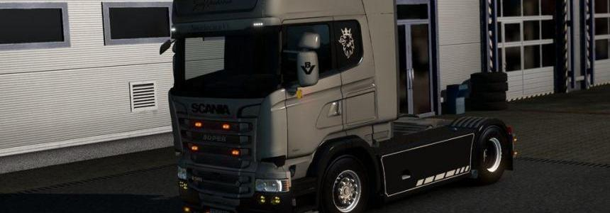 Customizable V8 – Simple Version – Scania RJL v1.0