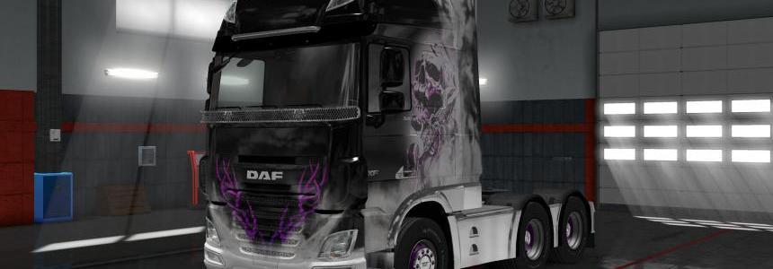 DAF Euro6 Skullgirl v1.0