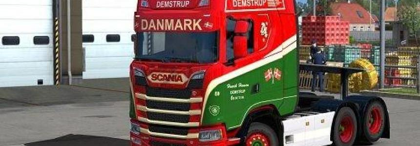 Demstrup Skin Scania Next Gen v1.0