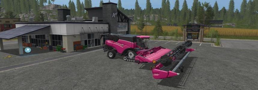 FS17 Pink New Holland Pack v1.0