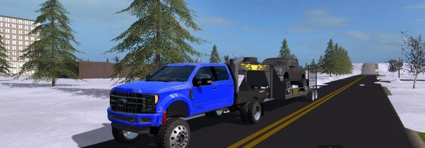 Lifted Ford trucks pack UNZIP v1.0