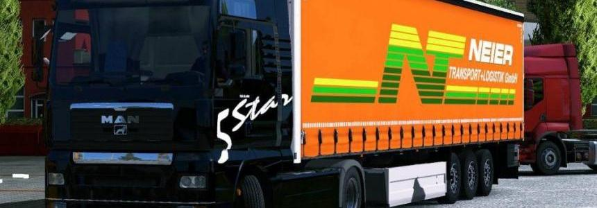 MAN TGA + Wielton trailer v1.0