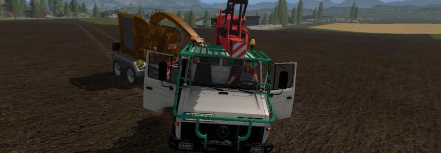 MB Unimog Forst v1.0