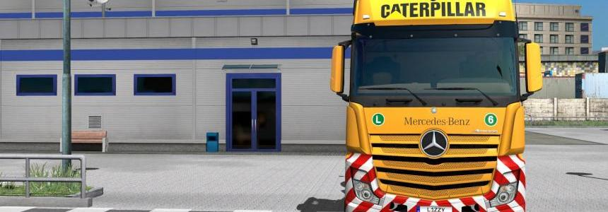 Mercedes-Benz 2014 - Caterpillar Paintjob by l1zzy