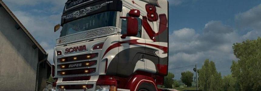 Metal Ripper Skin for Scania RJL