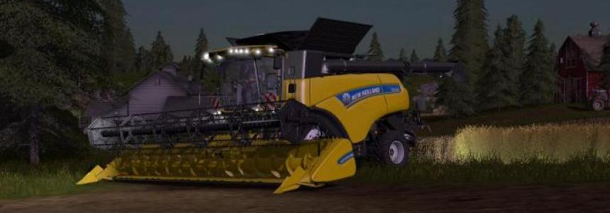 New Holland Schneidwerke and trailer v1