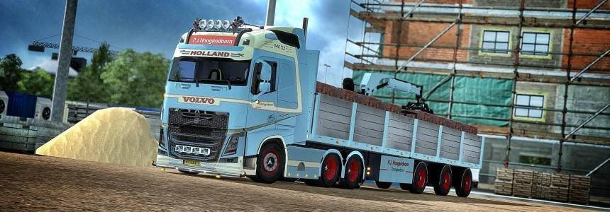 P.j.hoogendoorn collection skins + trailer