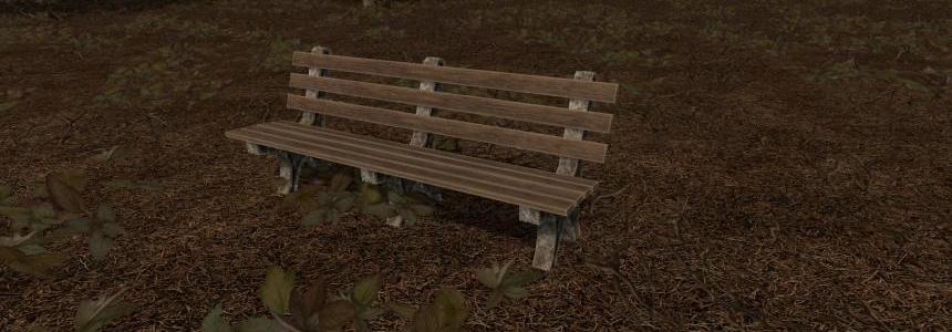 Placeable Park Bench v1.0