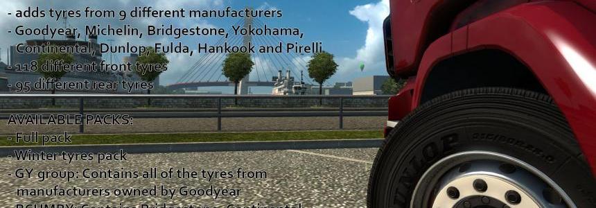 Real Tyres Mod v6.0 1.27.x-1.30.x