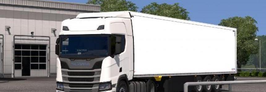 Scania R/S Registration Plate & Viatoll 1.30