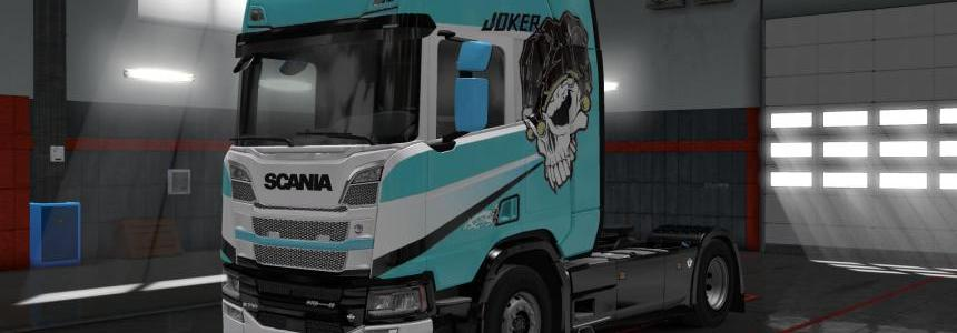 Scania R&S Skin Mix Pack 1.2v by Blackwolf83m