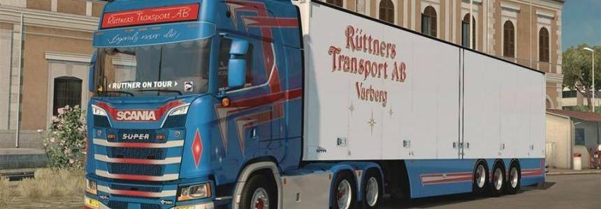 SCANIA Ruttners + NTM Ruttners v1.0