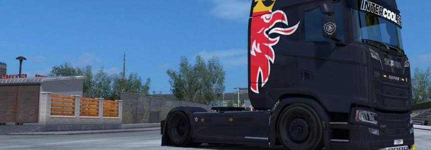 Scania S - Simple Griffin Paintjob by l1zzy