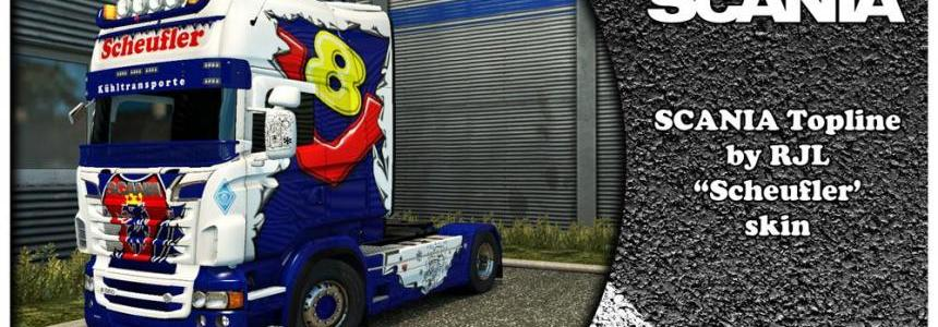 Scania Scheufler Skin for RJL 1.31
