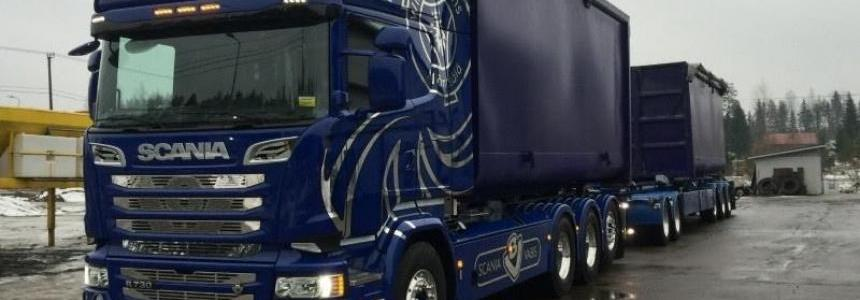 Scania Stock V8 Sound v1.1