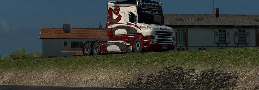 Scania T Metal Machine skin 1.30
